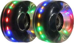 62mm X 32mm Lighted Skate Wheel for Roller Skates or Skate Boards