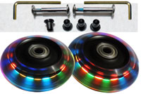 Luggage Lighted Wheel Sets -- 76mm