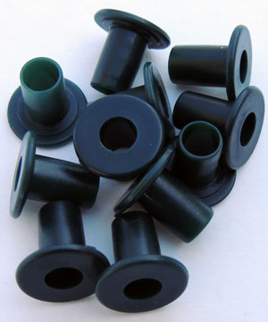 7mm to 8mm Adapter Spacer - Set of 8 - Green