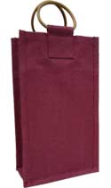 Two-Bottle Burgundy Wine Bag