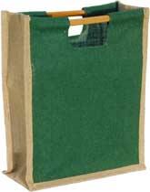 Three-Bottle Green-Natural Wine Bag