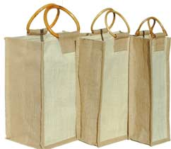 Natural Set - 6-2-1-Bottle Natural Wine Bags
