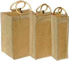 Rib Set - 6-2-1-Bottle Ribbed Wine Bags