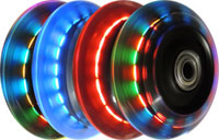 76mm Inline Lighted Skate Wheel
